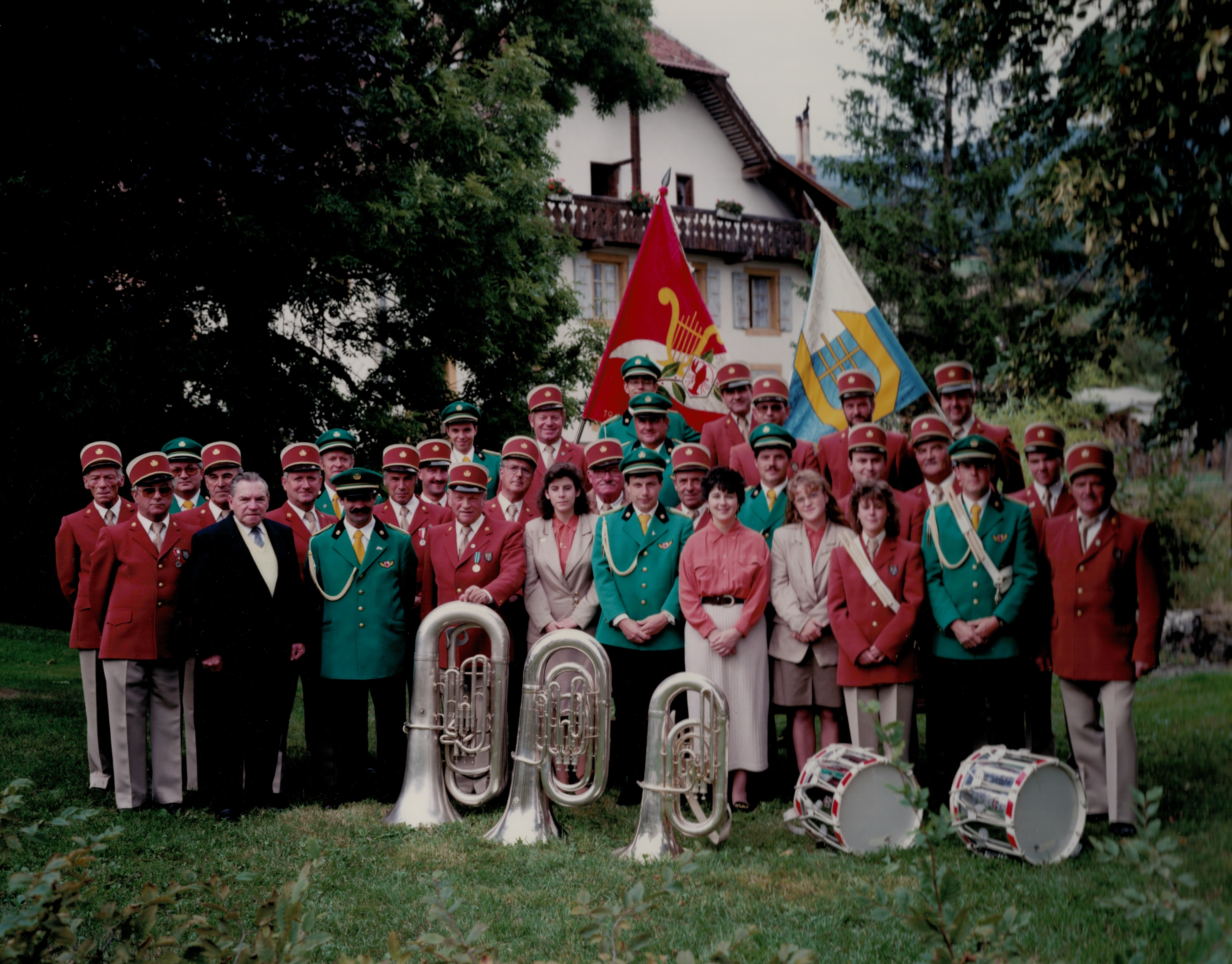 1995 Photo Groupe Champagne Onnens